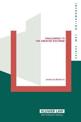 Challenges to the Creator Doctrine (Paperback)