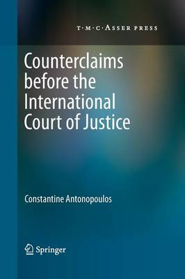 Counterclaims before the International Court of Justice (Paperback)