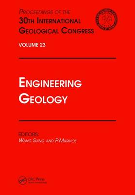 Engineering Geology: Proceedings of the 30th International Geological Congress, Volume 23 (Hardback)