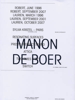 Manon De Boer (Paperback)