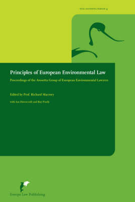 Principles of European Environmental Law (Paperback)