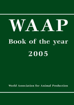 WAAP Book of the Year - 2005 - European Association for Animal Production 84.00 (Hardback)