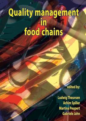 Quality Management in Food Chains (Hardback)