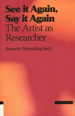 The Artist as Researcher (Paperback)