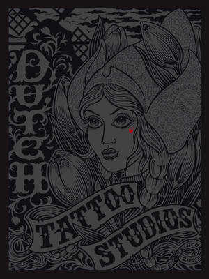 Dutch Tattoo Studios: The Book About Tattoo Artists in The Netherlands (Hardback)