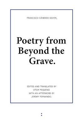 Poetry from Beyond the Grave (Paperback)