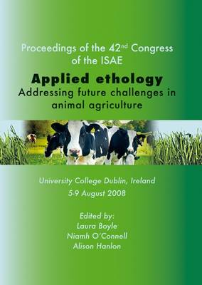 Applied Ethology: Addressing Future Challenges in Animal Agriculture (Paperback)
