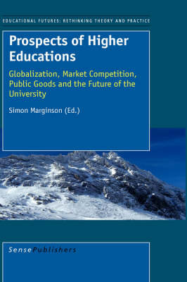 Prospects of Higher Education: Globalization, Market Competition, Public Goods and the Future of the University - Educational Futures: Rethinking Theory and Practice 13 (Paperback)