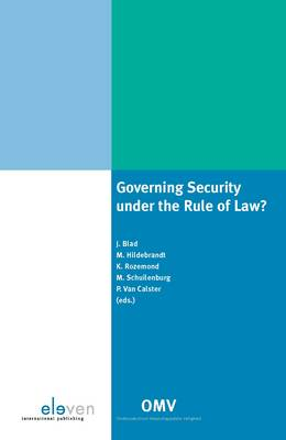 Governing Security Under the Rule of Law (Paperback)