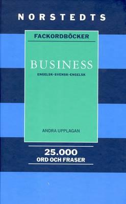 Norstedts Business English-English-Swedish Dictionary (Hardback)