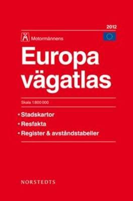 Sweden Road Atlas 2012: Sverige Vagatlas Motormannens (Paperback)