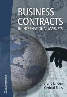 Business Contracts in International Markets (Paperback)