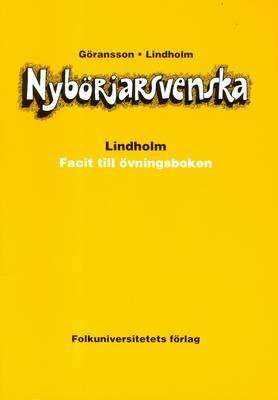 Nyborjarsvenska: Nyborjarbok I Svenska Som Frammande Sprak: Key (Paperback)