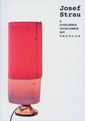 Josef Strau: A Dissidence Coincidence But W.H.C.T.J.S (Paperback)