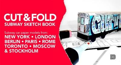 Cut And Fold Subway Sketchbook (Hardback)