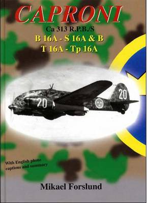 Caproni Ca 313 R.P.B./S: B 16A - S16 A   T 16A - Tp 16A (Paperback)