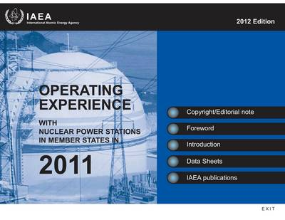 Operating experience with nuclear power stations in member states in 2011 (CD-ROM)