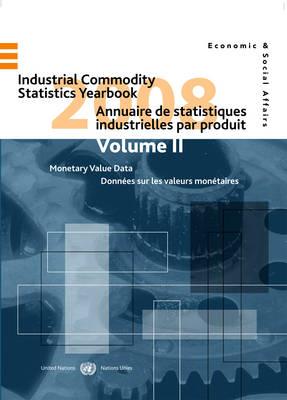 Industrial Commodity Statistics Yearbook 2008 (Hardback)