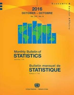 Monthly Bulletin of Statistics, October 2016 (Paperback)