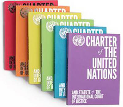 Charter of the United Nations and Statute of the International Court of Justice: English-language Limited Edition - Blue (Paperback)
