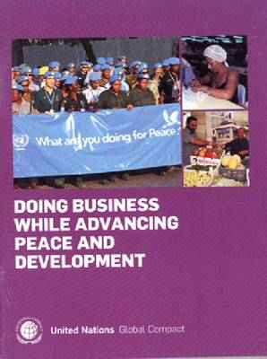 Doing Business While Advancing Peace and Development (Paperback)