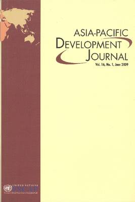 Asia-Pacific Development Journal: Volume 16 (Paperback)