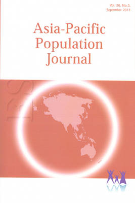 Asia-Pacific Population Journal, 2011, Volume 26, Part 3 (Paperback)