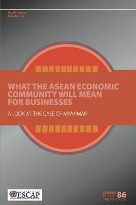 What the ASEAN economic community will mean for businesses: a look at the case of Myanmar - Studies in trade and investment 86 (Paperback)