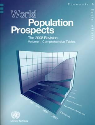 World Population Prospects: The 2008 Revision, Comprehensive Tables, Volume I (Paperback)