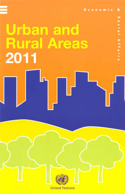 Urban and rural areas 2011 (Wall Chart) - Population studies (Paperback)
