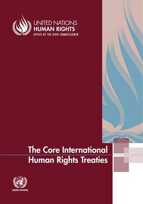 The core international human rights treaties (Paperback)