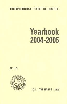Yearbook 2004-2005 (Paperback)