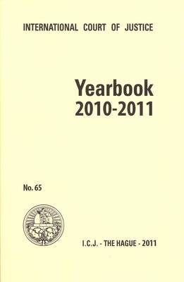 Yearbook of the International Court of Justice 2010-2011 (Paperback)