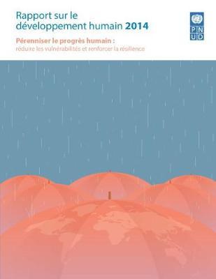 Rapport sur le developpement humain 2014 (Paperback)