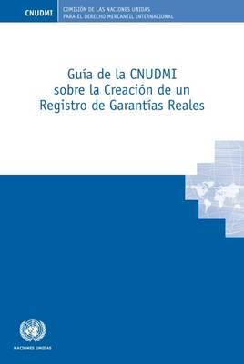 Guia de la CNUDMI sobre la Creacion de un Registro de Garantias Reales (Paperback)