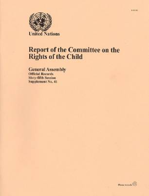 Report of the Committee on the Rights of the Child (Paperback)