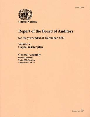 Report of the Board of Auditors for the Year Ended 31 December 2009: Volume V (Paperback)