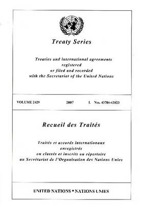 Treaty Series: Volume 2429 (Paperback)