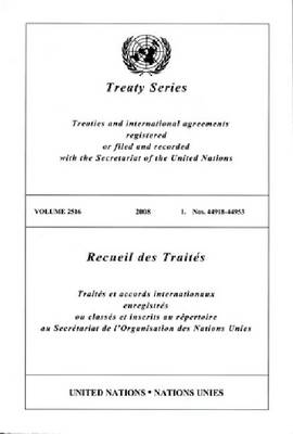 Treaty Series: Volume 2516 (Paperback)