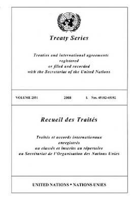 Treaty Series: Volume 2531 (Paperback)