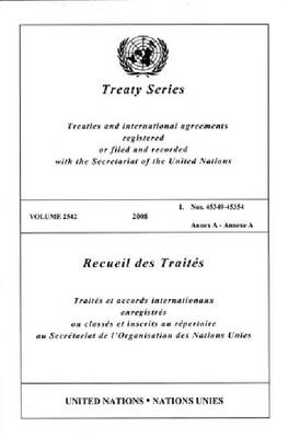 Treaty Series 2542 (Paperback)
