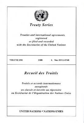Treaty Series 2541 (Paperback)