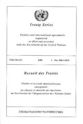 Treaty Series: Volume 2571 (Paperback)
