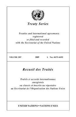 Treaty Series: Volume 2587 (Paperback)