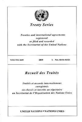 Treaty Series: Volume 2609 (Paperback)