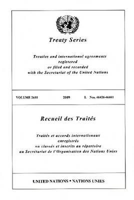 Treaty Series: Volume 2610 (Paperback)