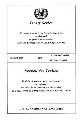 Treaty Series: Volume 2614 (Paperback)
