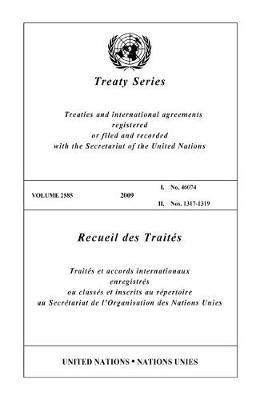 Treaty Series: Volume 2585 (Paperback)