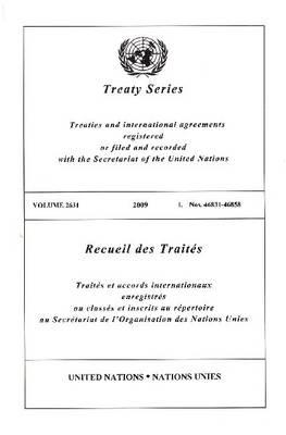 Treaty Series 2631 (Paperback)