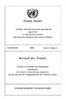 Treaty Series 2634 (Paperback)
